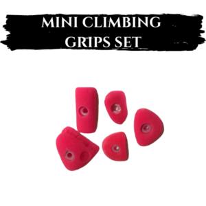Mini Climbing Grips Set