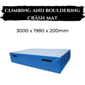 Climbing and Bouldering Crash Mat