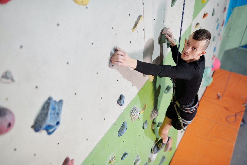 The benefits of rock climbing